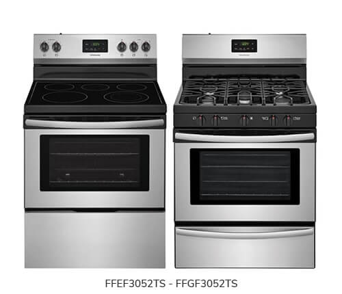 Frigidaire Range Gas and Electric